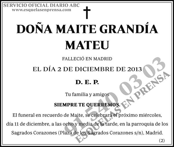 Maite Grandía Mateu